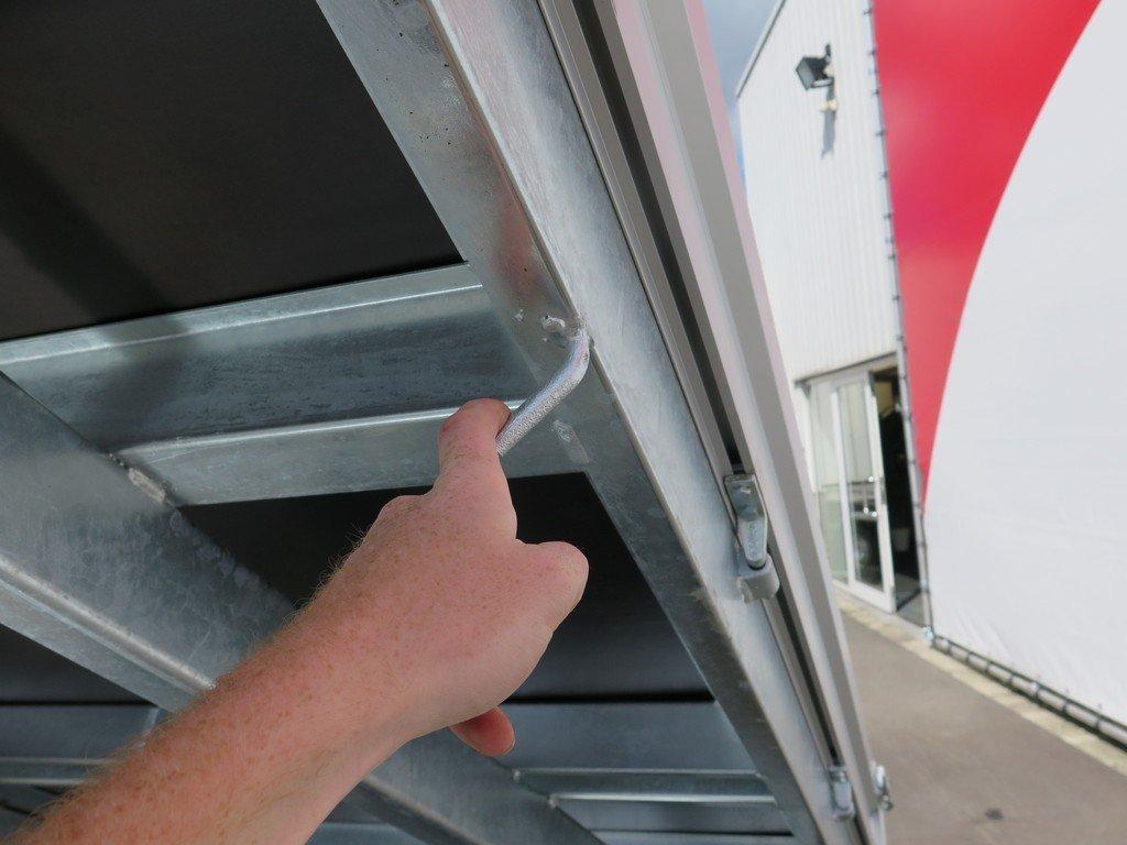 Saris kipper 306x170cm 2700kg eco Aanhangwagens XXL West Brabant touwhaken
