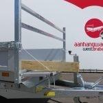 Saris kipper 306x170cm 2700kg eco Aanhangwagens XXL West Brabant voorbord neerklapbaar