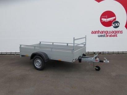 DEMO Anssems enkelas aanhanger 251x126cm 1200kg Aanhangwagens XXL West Brabant 3.0 hoofd