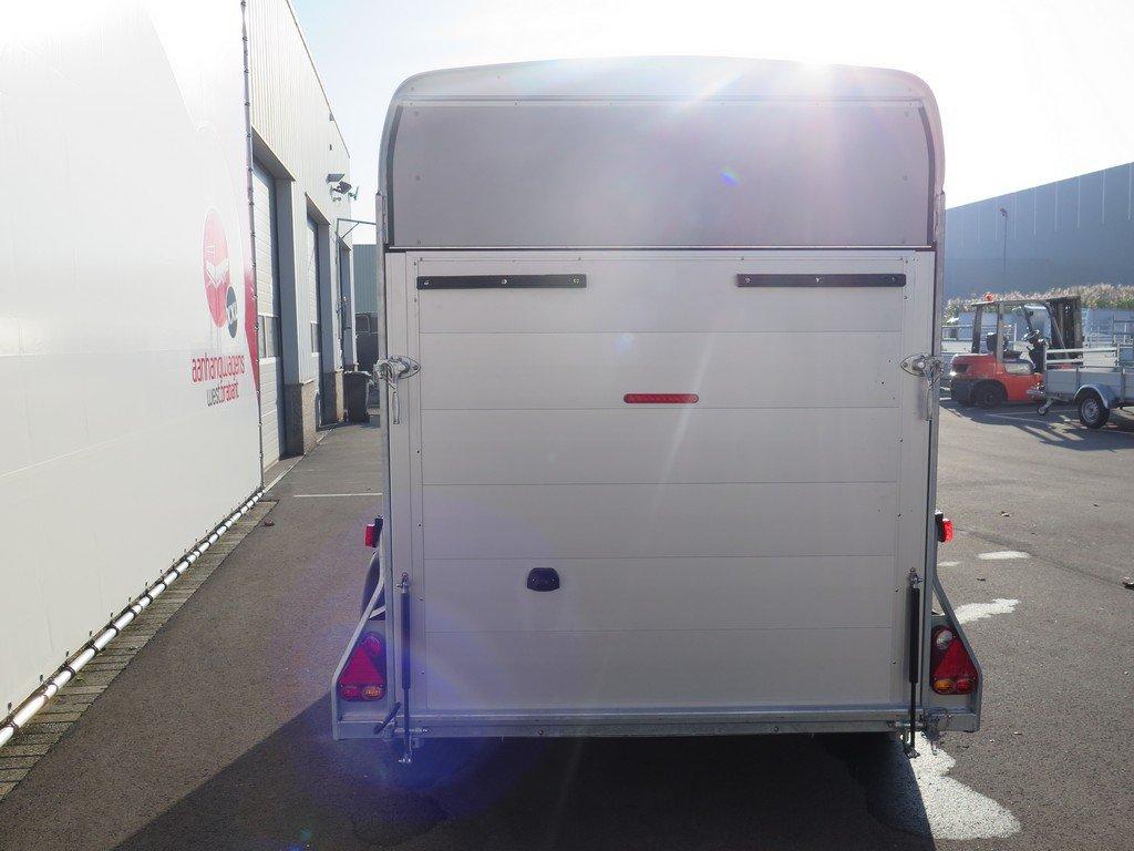 Easyline gesloten aanhanger 313x166x200cm 2000kg PPL Aanhangwagens XXL West Brabant 2.0 achter dicht