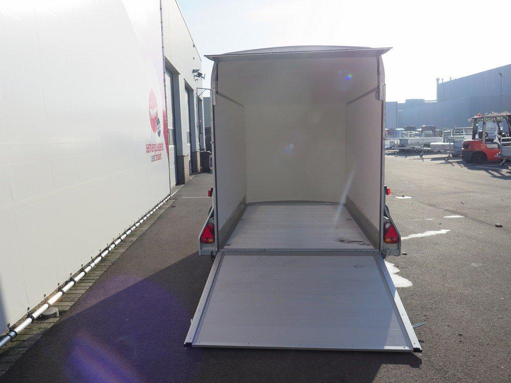 Easyline gesloten aanhanger 313x166x200cm 2000kg PPL Aanhangwagens XXL West Brabant 2.0 achter open