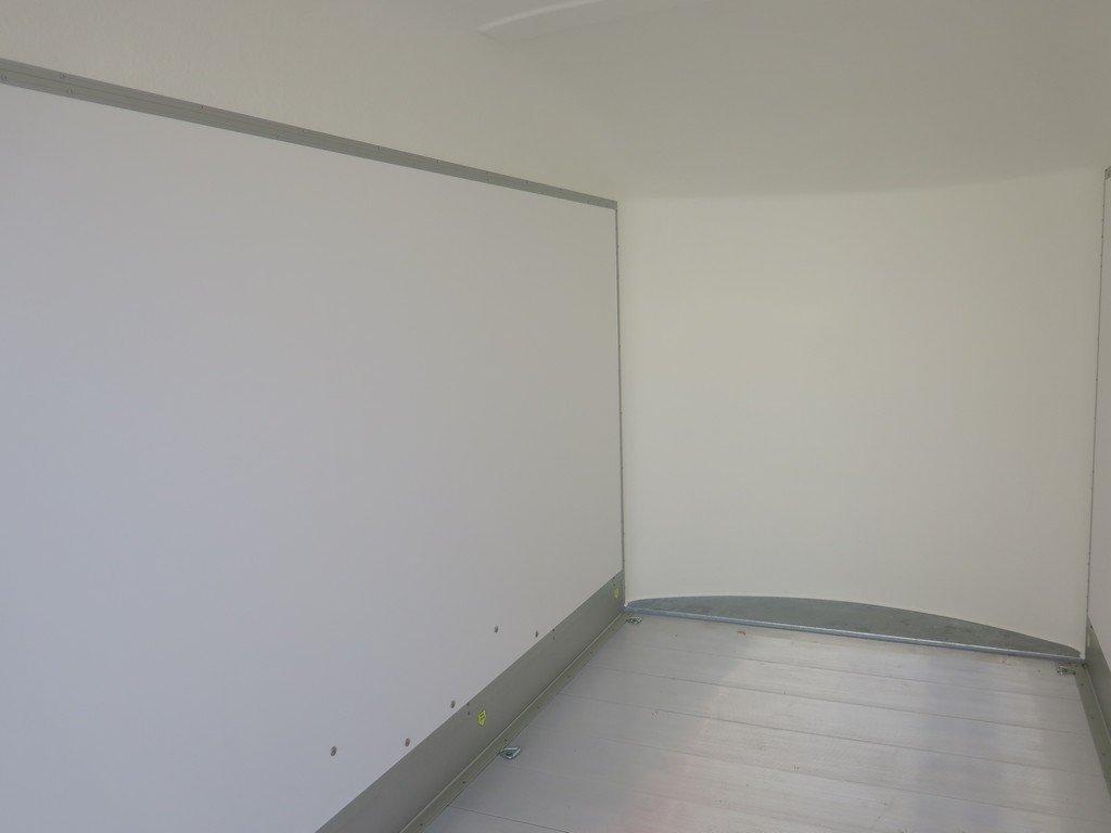 Easyline gesloten aanhanger 313x166x200cm 2100kg PPL Easyline gesloten aanhanger 313x166x200cm 2000kg PPL Aanhangwagens XXL West Brabant 2.0 binnenkant