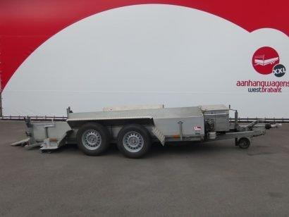 Humbaur machinetransporter 352x165cm 3500kg 2011 Aanhangwagens XXL West Brabant tweedehands hoofd