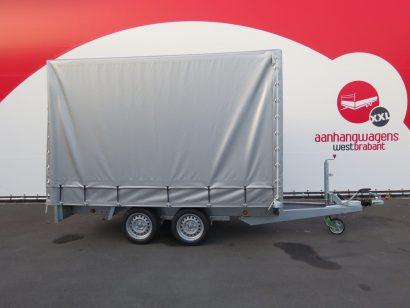 OUTLET Proline huifaanhanger 301x155x200cm 2000kg Aanhangwagens XXL West Brabant tweedehands hoofd