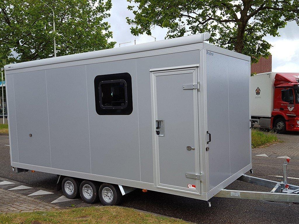 Proline gesloten motorcross aanhanger 485x204x210cm 3500kg speciaalbouw Aanhangwagens XXL West Brabant hoofd