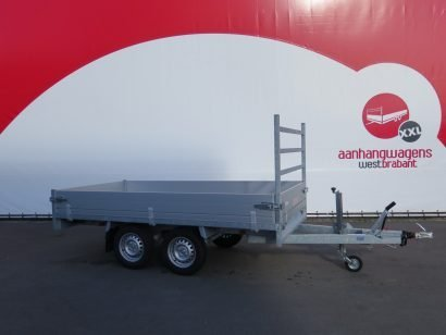 Anssems plateauwagen 305x153cm 2000kg eco Aanhangwagens XXL West Brabant 2.0 hoofd