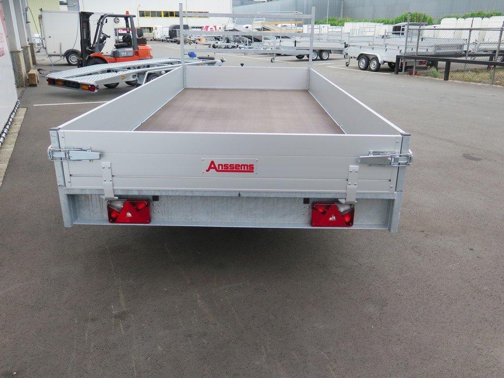 Anssems plateauwagen 405x178cm 2000kg eco