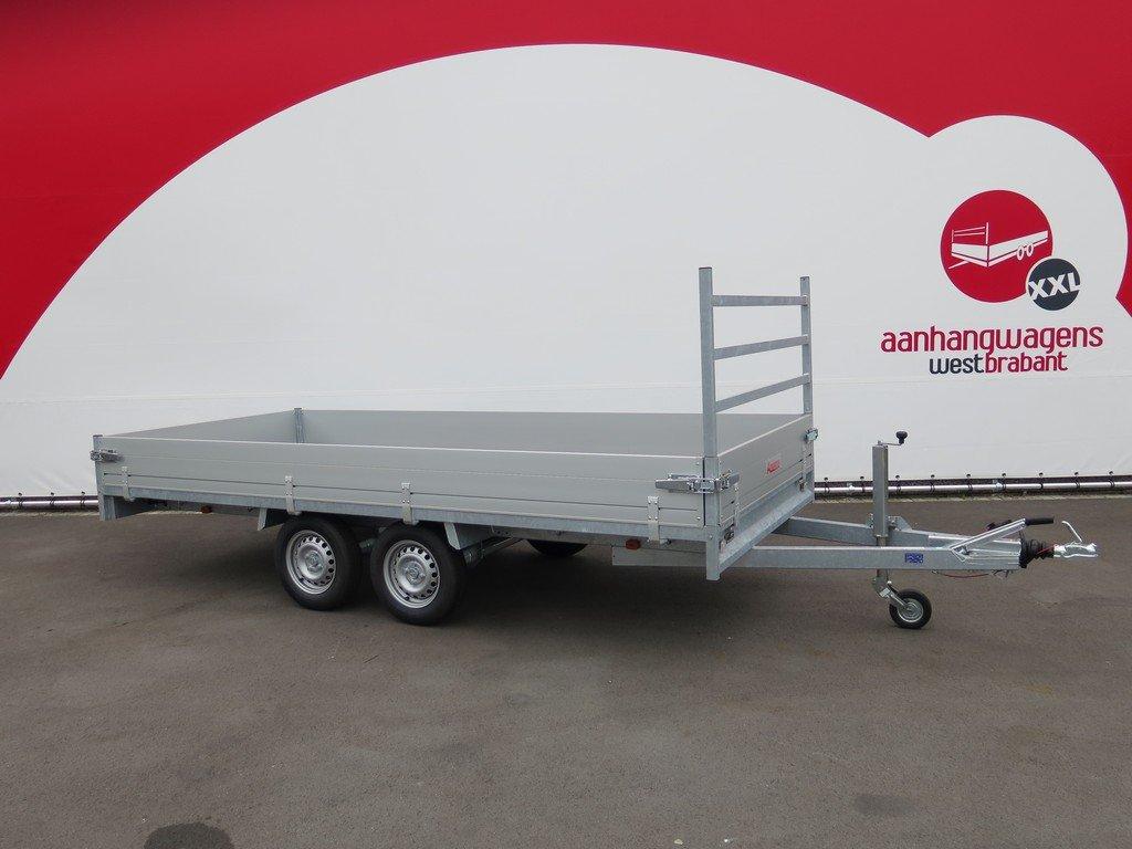 Anssems plateauwagen 405x178cm 2000kg eco Anssems plateauwagen 405x178cm 2000kg eco Aanhangwagens XXL West Brabant hoofd