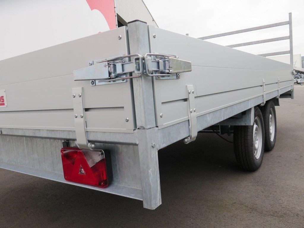 Anssems plateauwagen 405x178cm 2000kg eco Anssems plateauwagen 405x178cm 2000kg eco Aanhangwagens XXL West Brabant sluiting