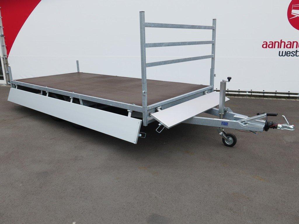 Anssems plateauwagen 405x178cm 2000kg eco Anssems plateauwagen 405x178cm 2000kg eco Aanhangwagens XXL West Brabant volledig vlak