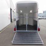 Henra plywood XL 2 paards paardentrailer Aanhangwagens XXL West Brabant achter open Aanhangwagens XXL West Brabant
