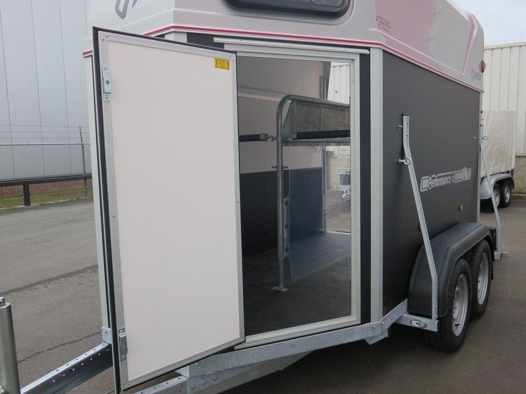 Henra plywood XL 2 paards paardentrailer Aanhangwagens XXL West Brabant grote verzorgingsdeur Aanhangwagens XXL West Brabant