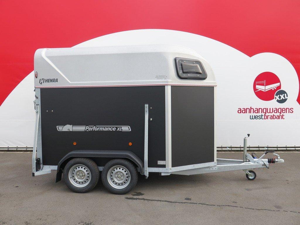 Henra plywood XL 2 paards paardentrailer Aanhangwagens XXL West Brabant hoofd Aanhangwagens XXL West Brabant