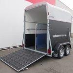 Henra plywood XL 2 paards paardentrailer Aanhangwagens XXL West Brabant oploopklep Aanhangwagens XXL West Brabant