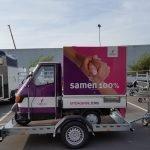 Maatwerk Proline aanhangwagen voor tuktuk Aanhangwagens XXL West Brabant hoofd