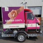 Maatwerk Proline aanhangwagen voor tuktuk Aanhangwagens XXL West Brabant overzicht
