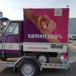 Maatwerk Proline aanhangwagen voor tuktuk Aanhangwagens XXL West Brabant zijkant