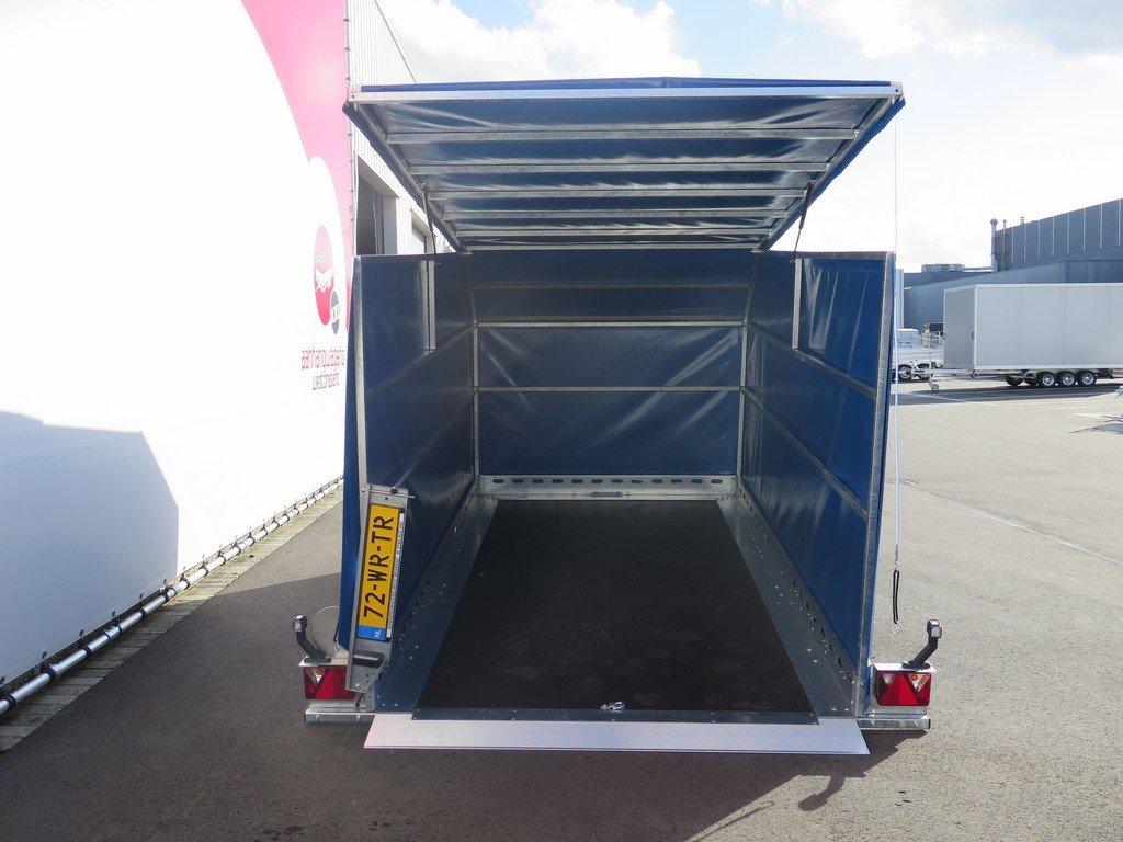 Proline motortrailer 314x180x170cm 1500kg zakbaar met huif Aanhangwagens XXL West Brabant achter open Aanhangwagens XXL West Brabant