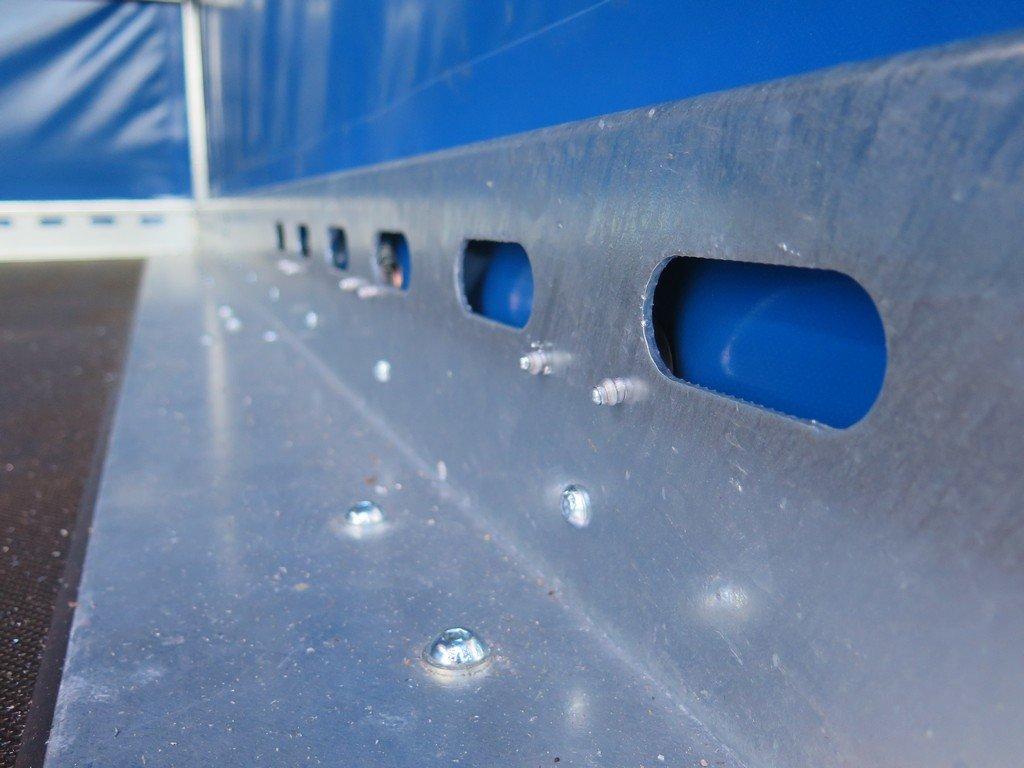 Proline motortrailer 314x180x170cm 1500kg zakbaar met huif Aanhangwagens XXL West Brabant bindreling Aanhangwagens XXL West Brabant