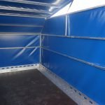 Proline motortrailer 314x180x170cm 1500kg zakbaar met huif Aanhangwagens XXL West Brabant binnenkant Aanhangwagens XXL West Brabant