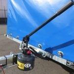 Proline motortrailer 314x180x170cm 1500kg zakbaar met huif Aanhangwagens XXL West Brabant handpomp Aanhangwagens XXL West Brabant