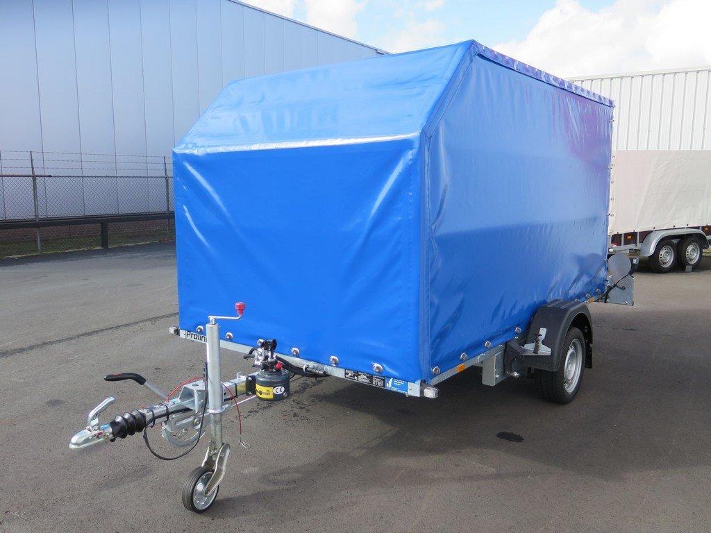 Proline motortrailer 314x180x170cm 1500kg zakbaar met huif Aanhangwagens XXL West Brabant overzicht Aanhangwagens XXL West Brabant