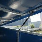 Proline motortrailer 314x180x170cm 1500kg zakbaar met huif Aanhangwagens XXL West Brabant scharnierbare opbouw Aanhangwagens XXL West Brabant