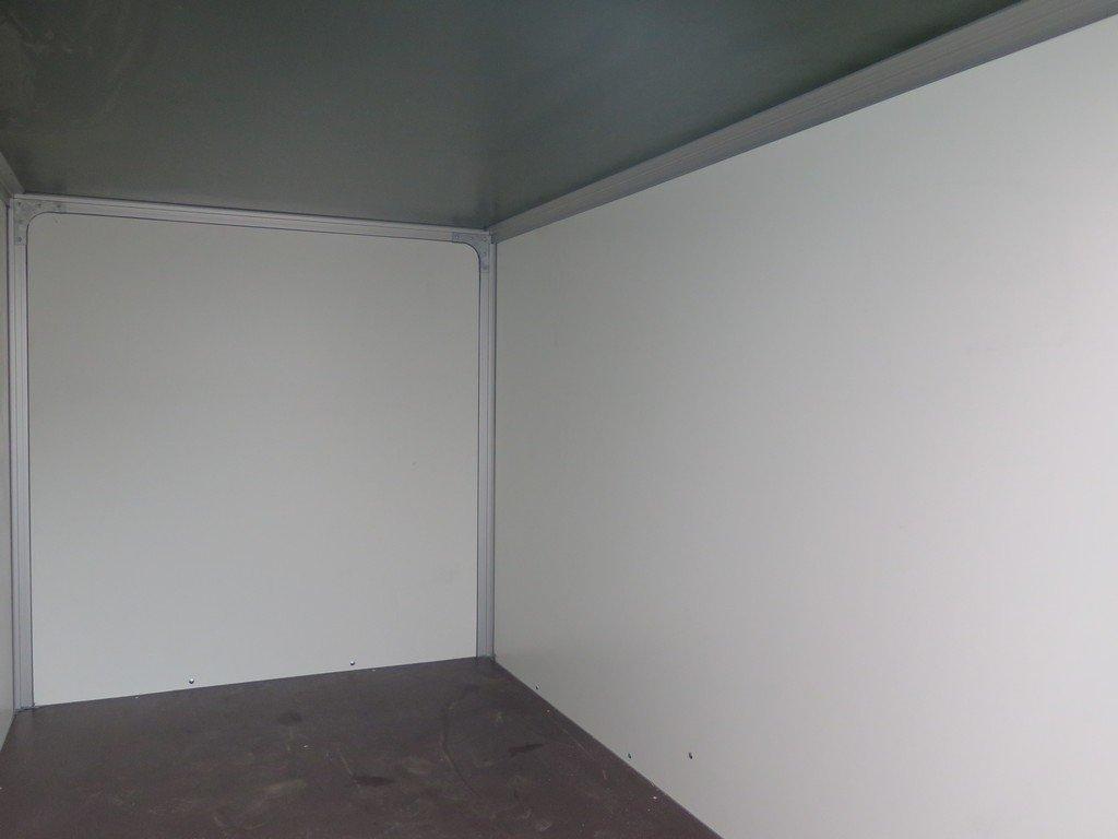 Easyline gesloten aanhanger 250x150x150cm 1350kg Aanhangwagens XXL West Brabant binnenkant