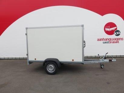 Easyline gesloten aanhanger 250x150x150cm 1350kg Aanhangwagens XXL West Brabant hoofd