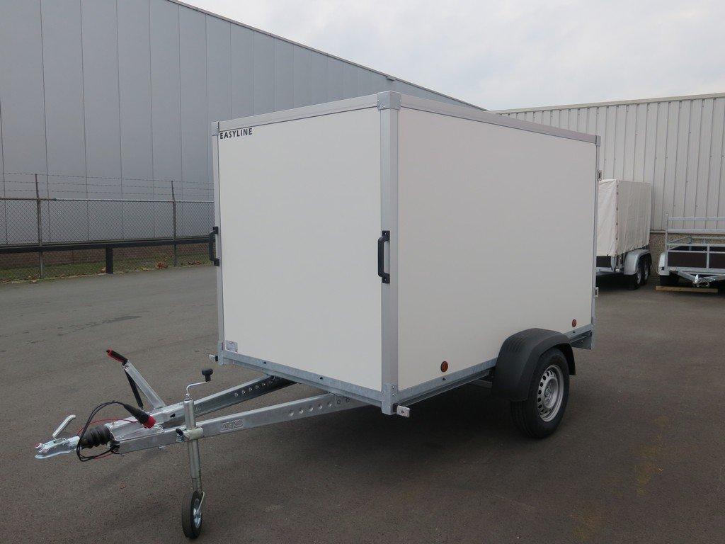 Easyline gesloten aanhanger 250x150x150cm 1350kg Aanhangwagens XXL West Brabant overzicht