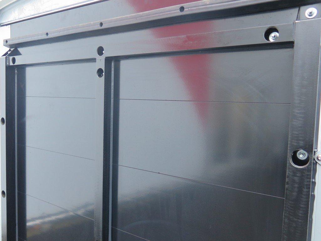 Maatwerk Easyline volpoly gesloten aanhanger Aanhangwagens XXL West Brabant verstevigde achterklep Aanhangwagens XXL West Brabant