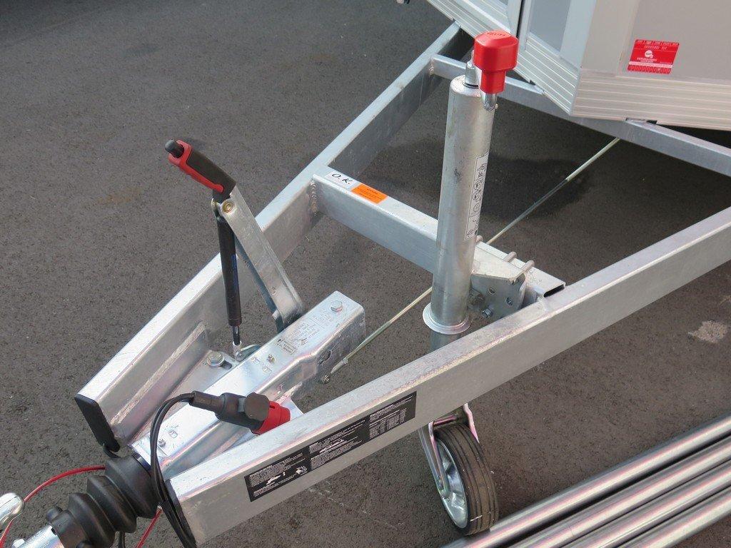 Proline gesloten aanhanger 425x204x250cm 3000kg Aanhangwagens XXL West Brabant dissel Aanhangwagens XXL West Brabant