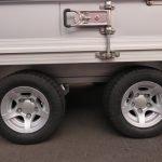 Proline gesloten aanhanger 425x204x250cm 3000kg Aanhangwagens XXL West Brabant tandemas