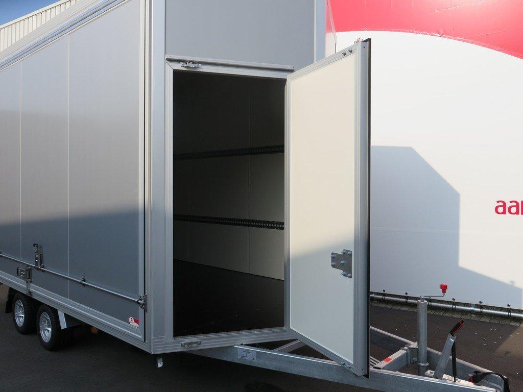 Proline gesloten aanhanger 425x204x250cm 3000kg Aanhangwagens XXL West Brabant voordeur