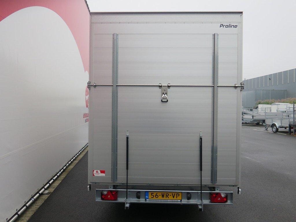 Proline gesloten aanhanger 485x204x210cm 3000kg Aanhangwagens XXL West Brabant achter dicht Aanhangwagens XXL West Brabant