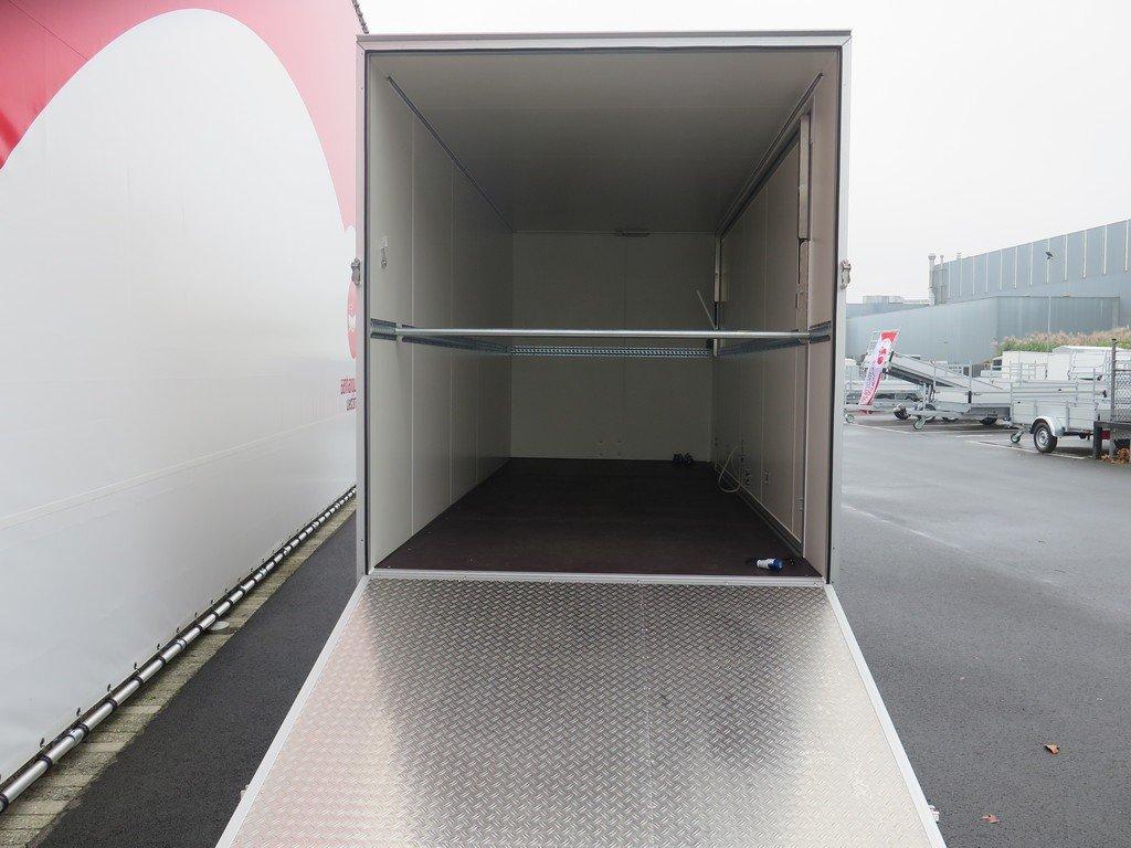 Proline gesloten aanhanger 485x204x210cm 3000kg Aanhangwagens XXL West Brabant achter open Aanhangwagens XXL West Brabant