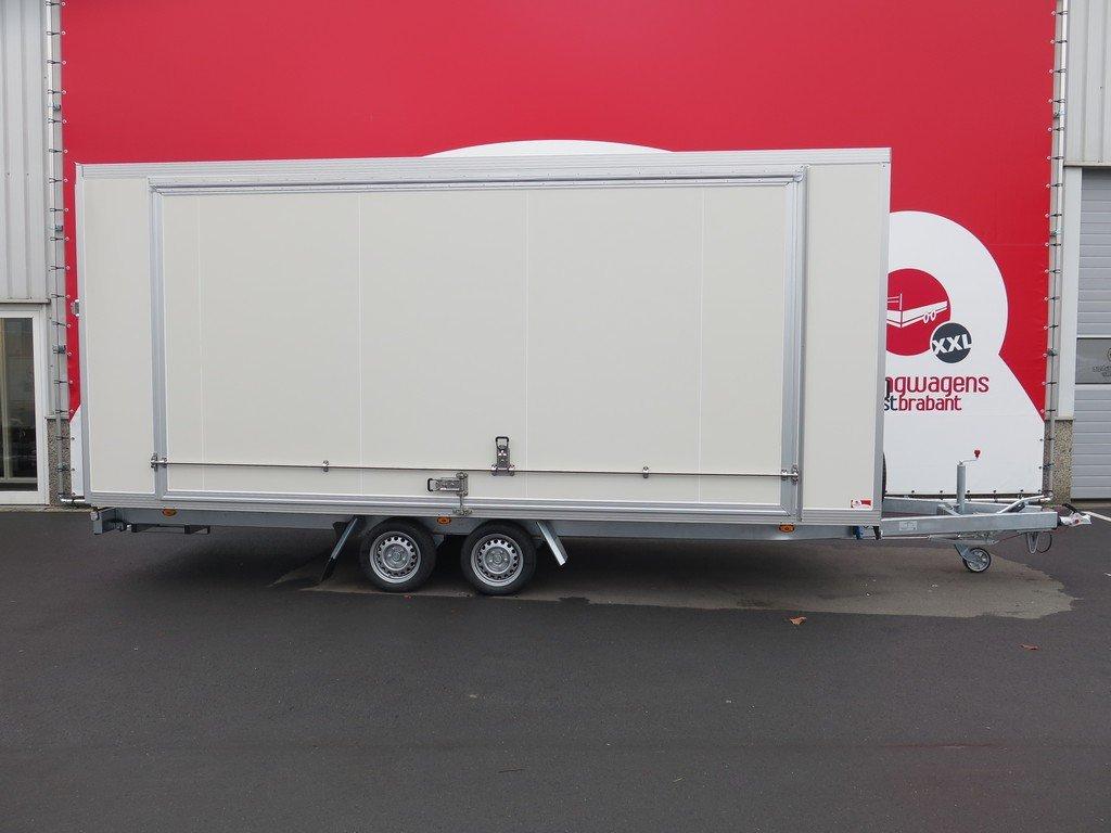 Proline gesloten aanhanger 485x204x210cm 3000kg Aanhangwagens XXL West Brabant hoofd Aanhangwagens XXL West Brabant