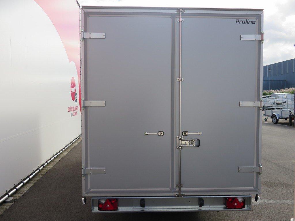 Proline gesloten aanhanger 485x204x210cm 3500kg tridemas Aanhangwagens XXL West Brabant achter dicht Aanhangwagens XXL West Brabant