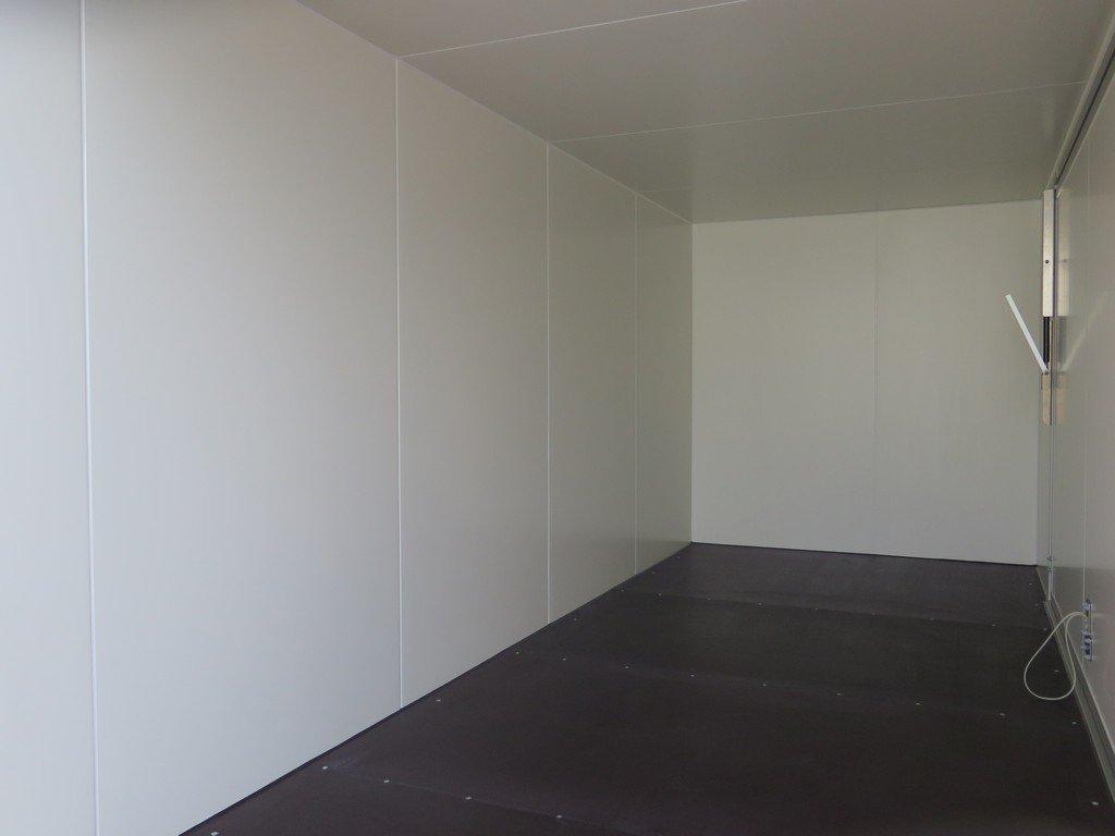 Proline gesloten aanhanger 485x204x210cm 3500kg tridemas Aanhangwagens XXL West Brabant binnenkant Aanhangwagens XXL West Brabant