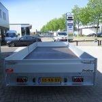 Proline plateauwagen 503x222cm 3500kg verlaagd Proline plateauwagen 503x220cm 3500kg verlaagd Aanhangwagens XXL West Brabant achterkant