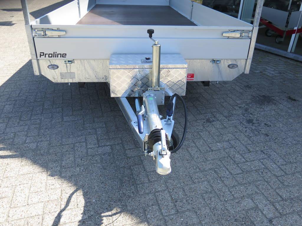 Proline plateauwagen 503x222cm 3500kg verlaagd Proline plateauwagen 503x220cm 3500kg verlaagd Aanhangwagens XXL West Brabant dissel