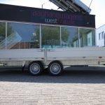 Proline plateauwagen 503x222cm 3500kg verlaagd Proline plateauwagen 503x220cm 3500kg verlaagd Aanhangwagens XXL West Brabant dubbele as