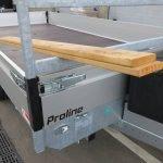 Proline plateauwagen 503x222cm 3500kg verlaagd Proline plateauwagen 503x220cm 3500kg verlaagd Aanhangwagens XXL West Brabant hoekrongen