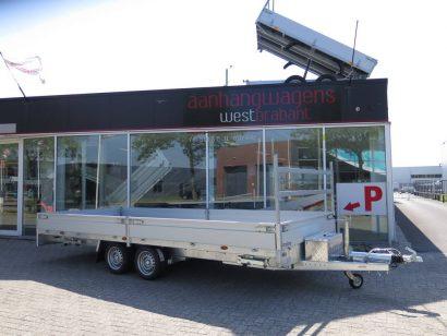 Proline plateauwagen 503x220cm 3500kg verlaagd Aanhangwagens XXL West Brabant hoofd