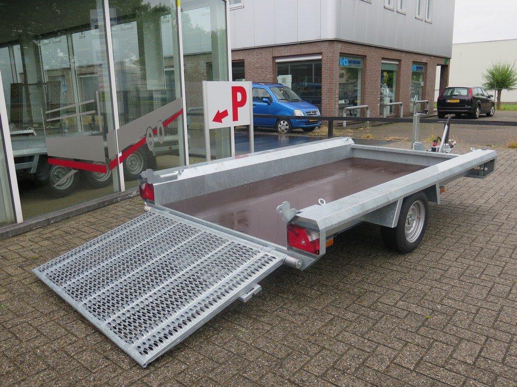 Hulco machinetransporter 300x150cm 1500kg Basic Aanhangwagens XXL West Brabant 2.0 oprijklep Aanhangwagens XXL West Brabant
