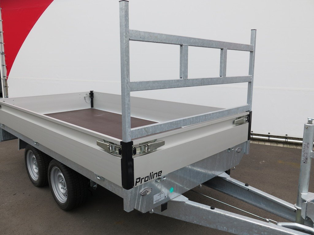 Proline plateauwagen 301x155cm 2700kg Aanhangwagens XXL West Brabant 2.0 koprek Aanhangwagens XXL West Brabant