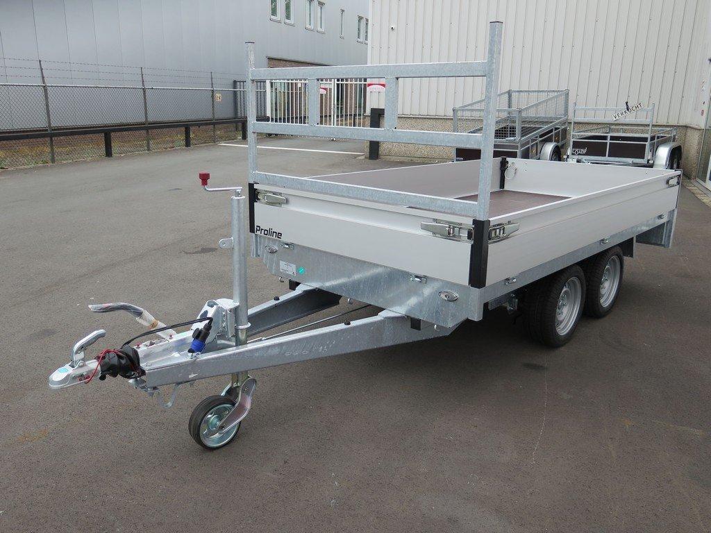 Proline plateauwagen 301x155cm 2700kg Aanhangwagens XXL West Brabant 2.0 overzicht Aanhangwagens XXL West Brabant