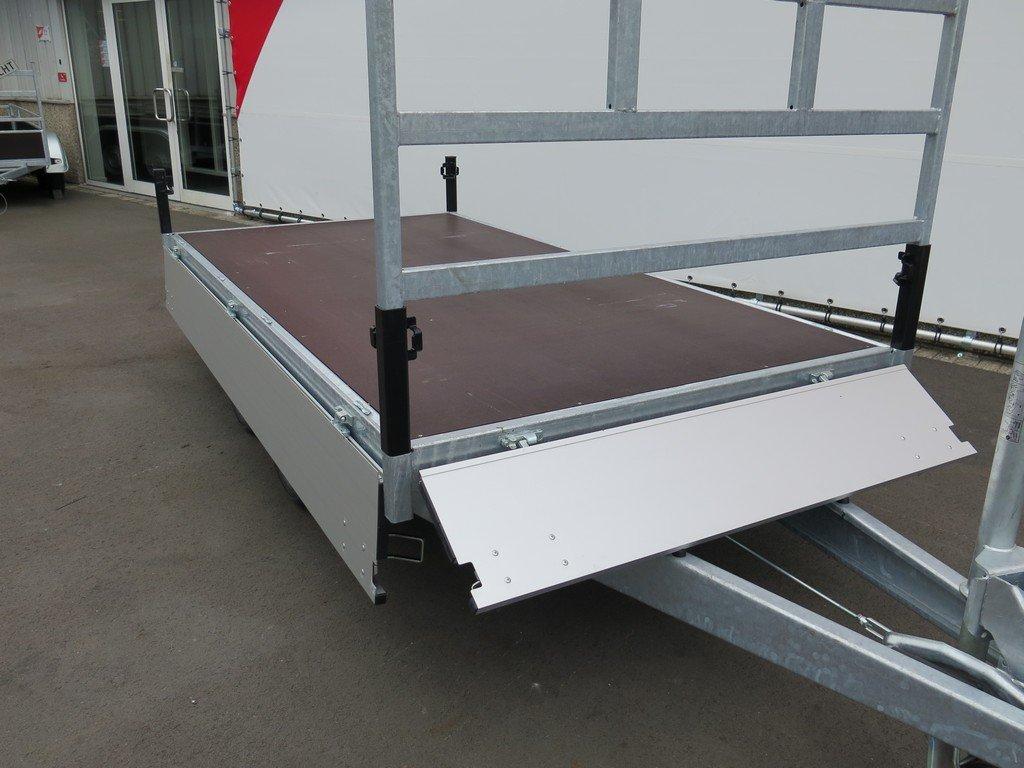 Proline plateauwagen 301x155cm 2850kg Proline plateauwagen 301x155cm 2700kg Aanhangwagens XXL West Brabant 2.0 volledig vlak