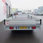 Proline plateauwagen 503x202cm 3500kg verlaagd tridemas Aanhangwagens XXL West Brabant achterkant