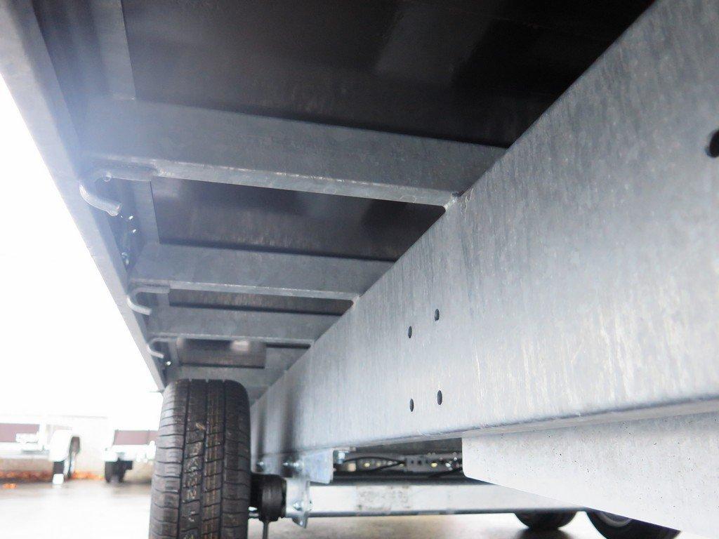 Proline plateauwagen 503x202cm 3500kg verlaagd tridemas Aanhangwagens XXL West Brabant touwhaken